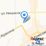 Кралан на карте Кирова