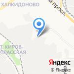 ВЯТПЕНОБЕТОН на карте Кирова