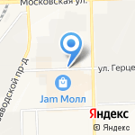 1 Меховой на карте Кирова