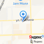 1XBET на карте Кирова