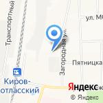 MD ТЕХНИКА на карте Кирова