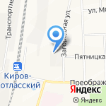 Вятский Агроконцерн на карте Кирова
