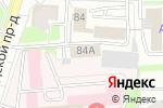 Схема проезда до компании Специализированный батальон ДПС ГИБДД оперативного реагирования в Кирове