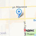 КОРПУС на карте Кирова