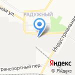 Торговая компания Контракт на карте Кирова