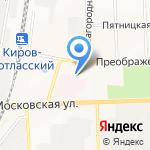 Специализированный батальон ДПС ГИБДД оперативного реагирования на карте Кирова