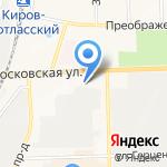 Ритуал на карте Кирова