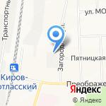 Балансировщик на карте Кирова