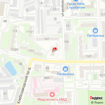 г. Киров, ул. Энгельса,105 на карта