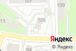 Схема проезда до компании Продуктовый магазин в Кирове
