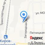 Народная на карте Кирова