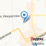 Арника на карте Кирова