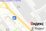 Схема проезда до компании Шедевр в Кирове