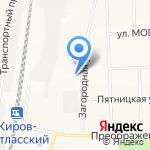207-207 на карте Кирова
