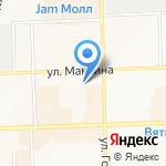 Держи Пять на карте Кирова