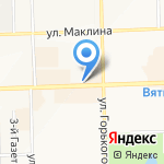 INTERIO на карте Кирова
