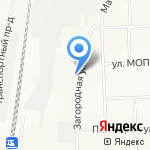 Карусель на карте Кирова