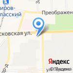 Управление судебного департамента в Кировской области на карте Кирова