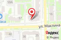 Схема проезда до компании Авто на СТО в Кирове