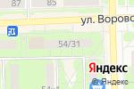 Схема проезда до компании ПИЛКИ+ в Кирове