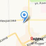 Детская поликлиника №2 на карте Кирова
