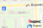 Схема проезда до компании dekka в Кирове