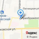 Каркаде на карте Кирова