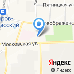 Кировское строительное управление №1 на карте Кирова