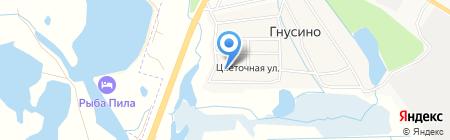 Транспортная компания на карте Гнусино