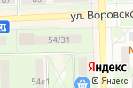 Схема проезда до компании Ванда в Кирове