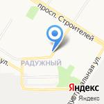 Магазин овощей и фруктов на карте Кирова