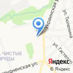 Цветочный дворик на карте Кирова
