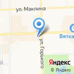 Верона на карте Кирова