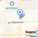 Via Roma на карте Кирова
