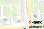 Схема проезда до компании Гибкий тростник в Кирове