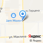 Зимберг на карте Кирова