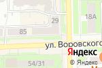 Схема проезда до компании Тёма в Кирове