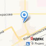 Фромус на карте Кирова
