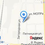 Средняя общеобразовательная школа №22 на карте Кирова