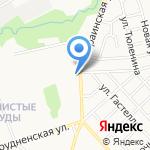 Кировская лесосеменная станция на карте Кирова