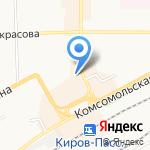Stern-Киров на карте Кирова