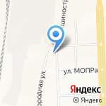 Участковый пункт полиции №16 на карте Кирова