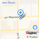 Академия красоты и здоровья на карте Кирова