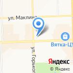 Магазин промтоваров на карте Кирова