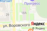 Схема проезда до компании Промтовары в Кирове