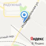 Стрибог на карте Кирова