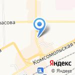 Пиццерия на карте Кирова