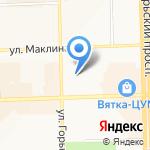 Федерация пауэрлифтинга Кировской области на карте Кирова