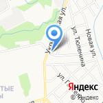 Финист на карте Кирова