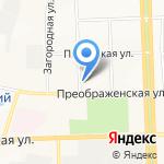 Арбуз на карте Кирова